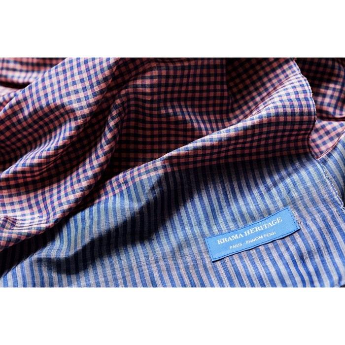 06441fee30e4 Foulard krama heritage krama en soie gris perle gris clair Krama Heritage    La Redoute