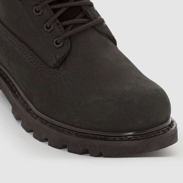 Boots cuir colorado noir Caterpillar