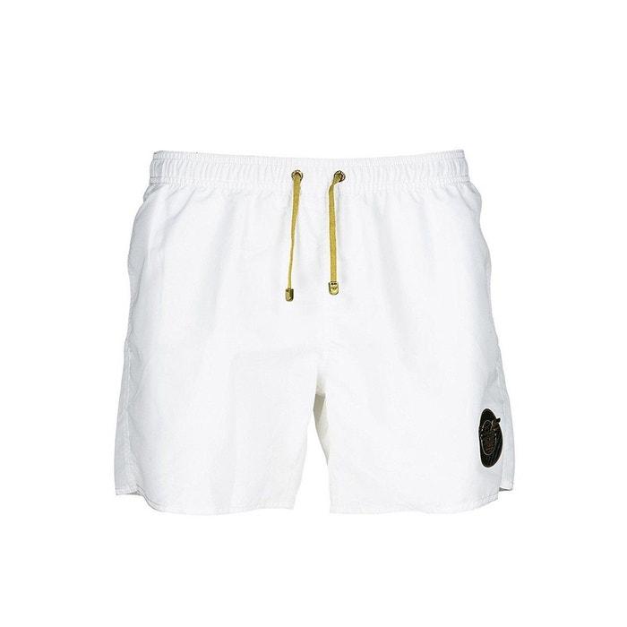 Short de bain polyester blanc Emporio Armani Ea7   La Redoute 660c0eea25af