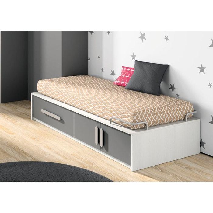 lit enfant plateforme avec rangement ik idkid s la redoute. Black Bedroom Furniture Sets. Home Design Ideas