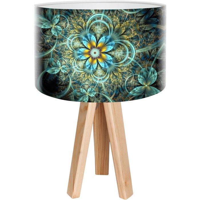 lampe de chevet mandala multicolore bps koncept la redoute. Black Bedroom Furniture Sets. Home Design Ideas