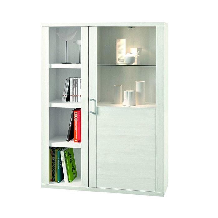 vitrine design led kalera atylia blanc atylia la redoute. Black Bedroom Furniture Sets. Home Design Ideas