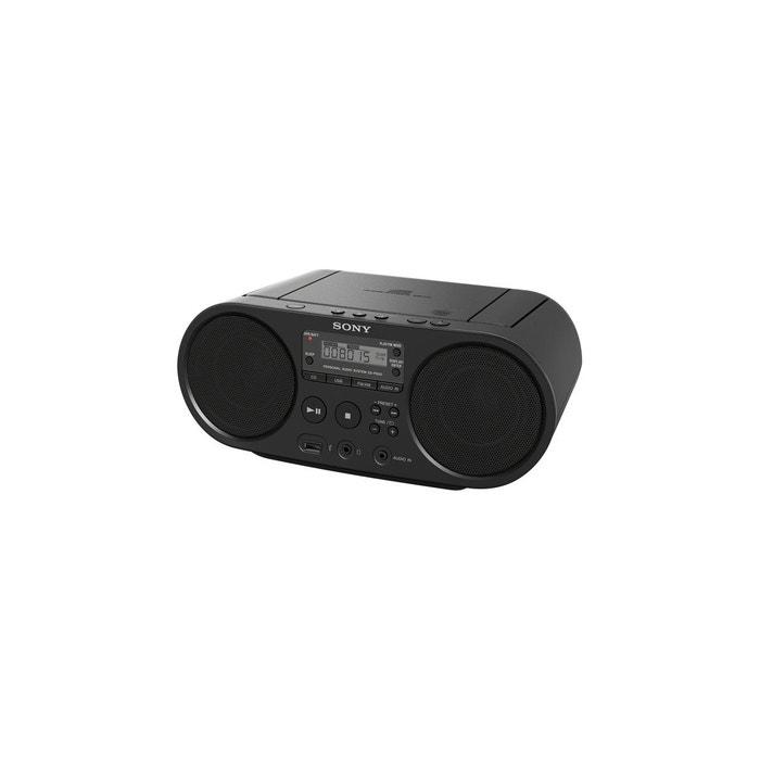 0688050a1f8a3a Radio cd zs-ps50 noir noir Sony   La Redoute