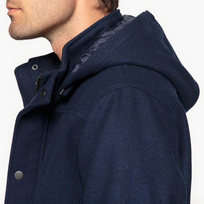 con 4 de Collections mezcla de lana 3 La largo Redoute Abrigo nq0wx7nvt