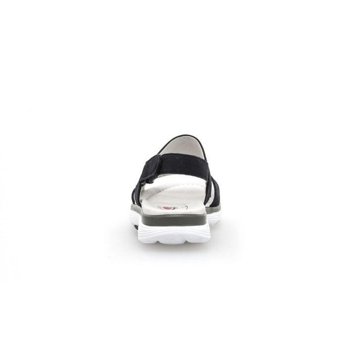 Sandales rollingsoft bleu Gabor