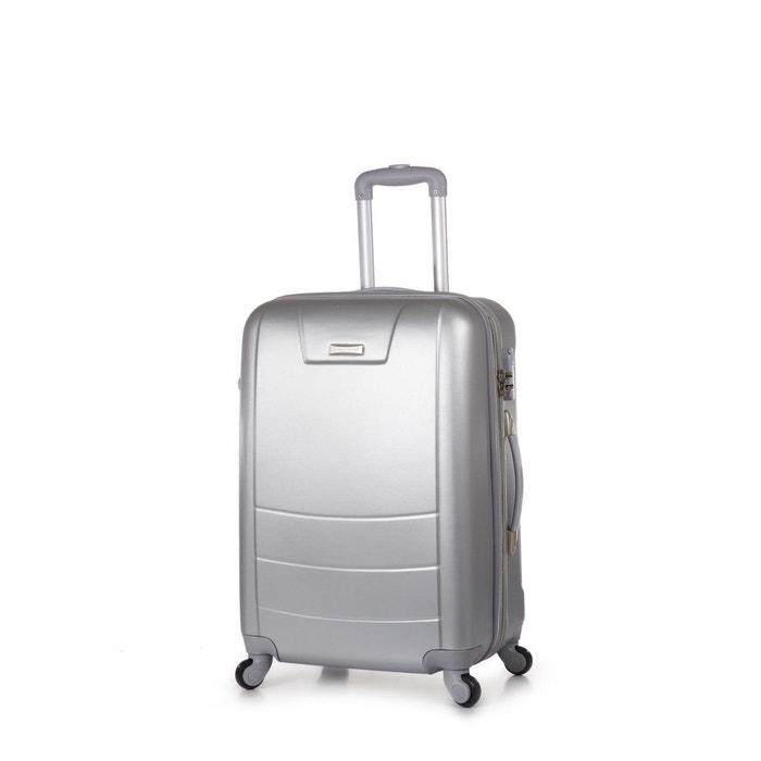 valise rigide tokyo 64 cm argent madisson la redoute. Black Bedroom Furniture Sets. Home Design Ideas