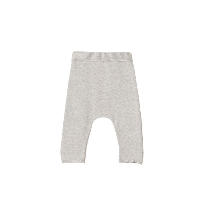 Pantalon Bébé Naissance En Tricot De Coton Bio