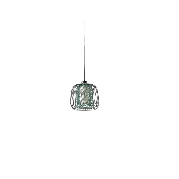 luminaire suspension noir vert herdasa la redoute. Black Bedroom Furniture Sets. Home Design Ideas