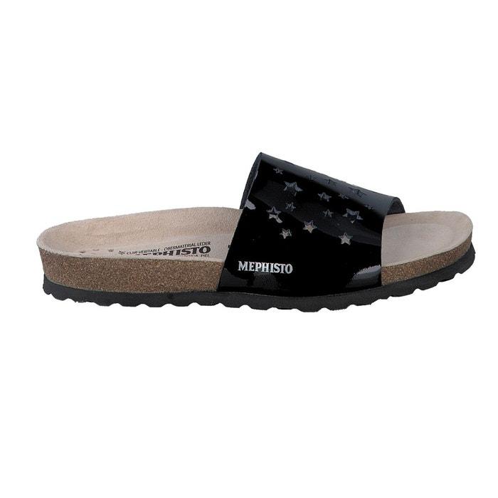 Mephisto Sandales NORA STAR Noir - Livraison Gratuite avec  - Chaussures Sandale