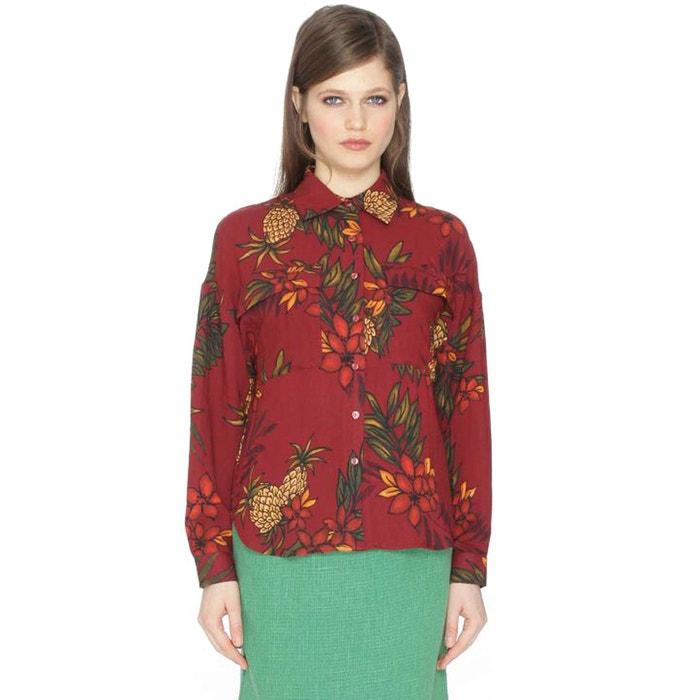 Floral Print Shirt  PEPALOVES image 0