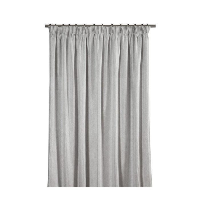 rideau pr t poser titane gris toiles de mayenne la redoute. Black Bedroom Furniture Sets. Home Design Ideas