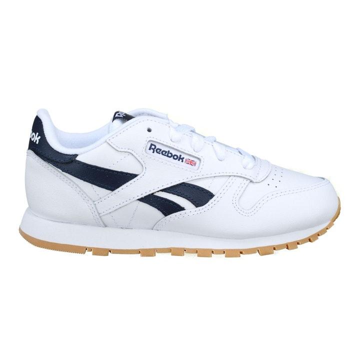 ad916b50159b Classic leather blanc/bleu Reebok Classics   La Redoute