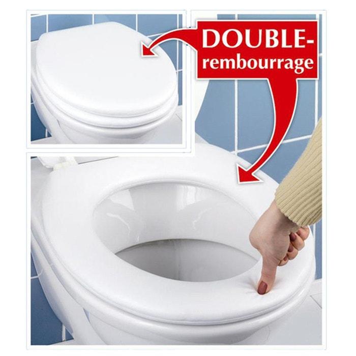 abattant wc mousse blanc wenko la redoute. Black Bedroom Furniture Sets. Home Design Ideas