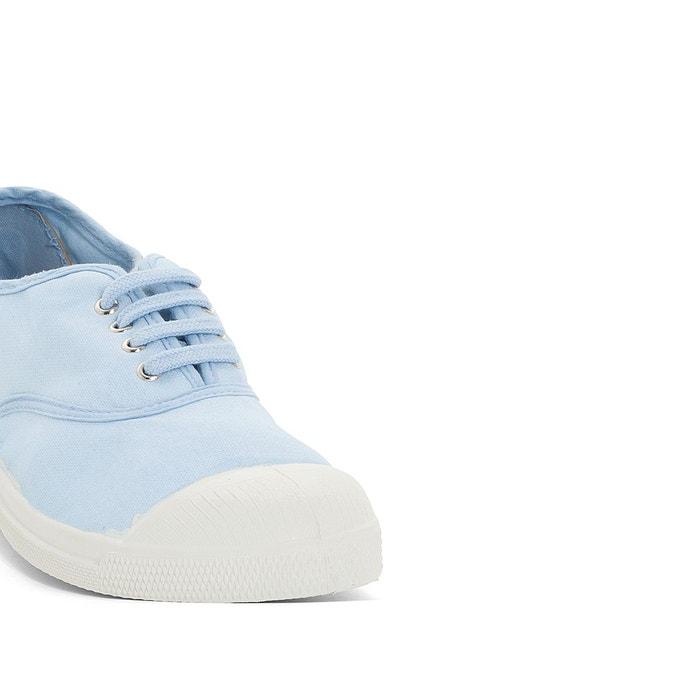 Baskets basique elastique bleu Bensimon
