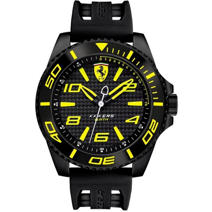 Montre homme silicone 0830307 noir Ferrari | La Redoute Édition Limitée En Ligne Pas Cher KomReB0ii7