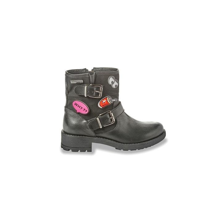 Image Boots cuir motardes Lookat LES TROPEZIENNES PAR M.BELARBI