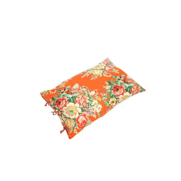 coussin 50x70 en voile imprim grands bouquets baobab la redoute. Black Bedroom Furniture Sets. Home Design Ideas