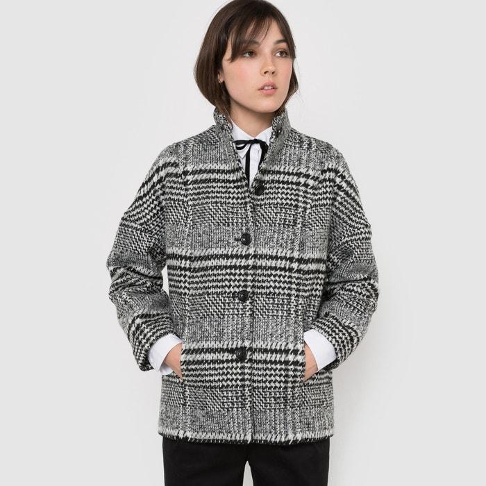Image Herringbone Boxy Cropped Coat R édition