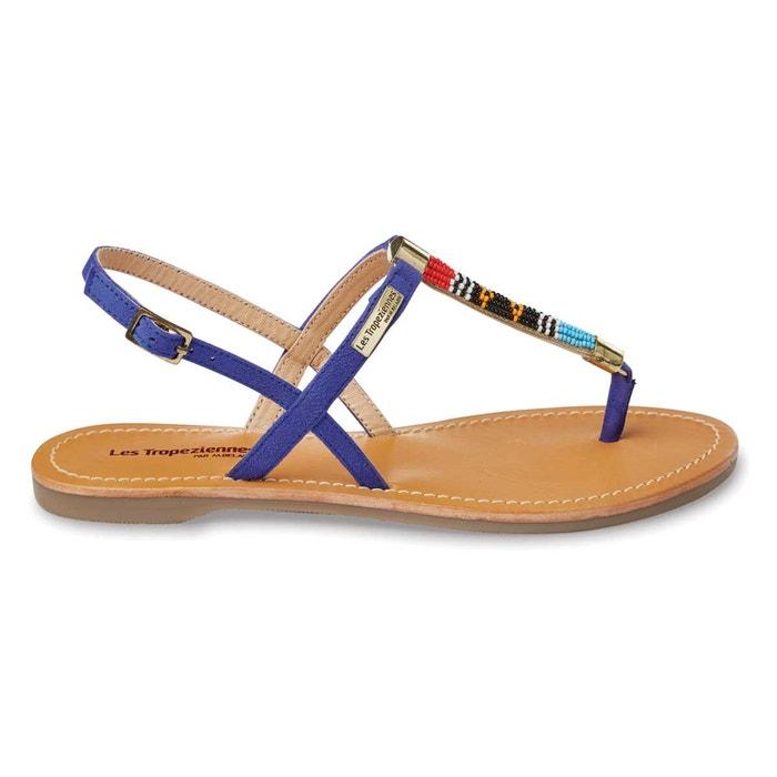 sandales plates odelia les tropeziennes par m belarbi la redoute. Black Bedroom Furniture Sets. Home Design Ideas