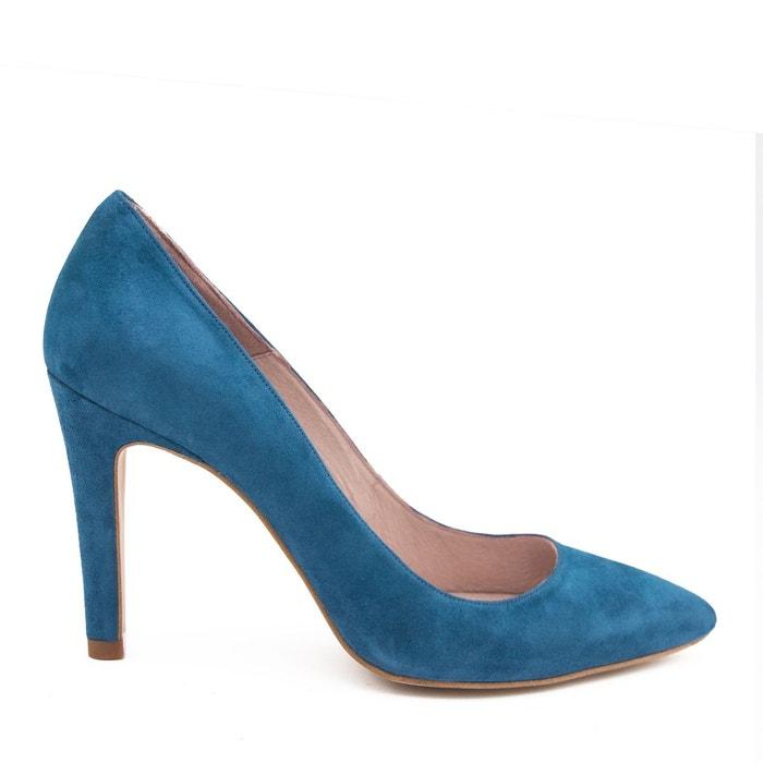 Originale Vente En Ligne Escarpins en cuir bleu Eva Lopez extrêmement Jeu Exclusif 3ZDRQn
