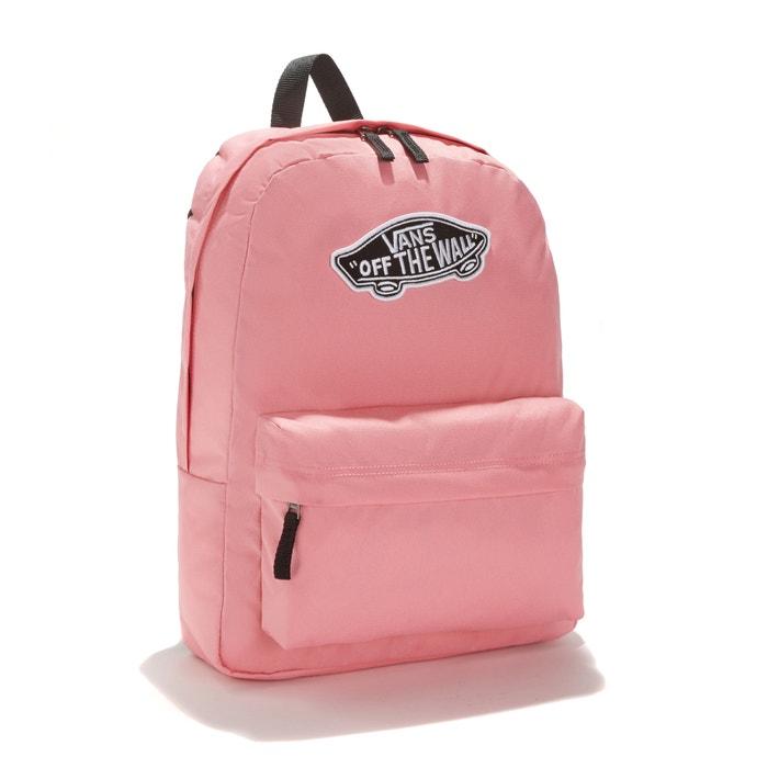 d575b16c7fe Rugzak realm backpack roze Vans | La Redoute