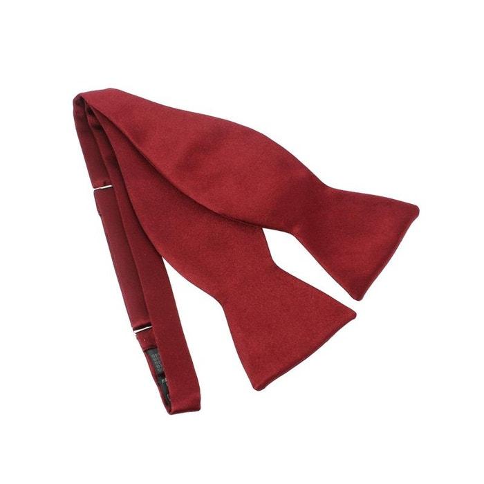 Noeud papillon segni & disegni, rouge bordeaux satin rouge Segni Et Disegni | La Redoute