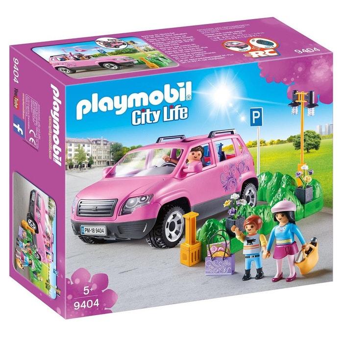 playmobil 9404 city life voiture familiale couleur unique playmobil la redoute. Black Bedroom Furniture Sets. Home Design Ideas