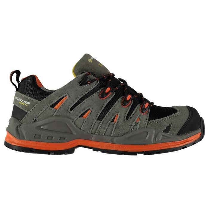 Bottes de sécurité respirant gris charbon/orange Dunlop