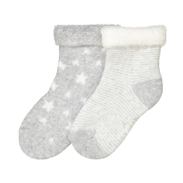 Confezione da 2 paia calze fantasia, bouclé  R essentiel image 0