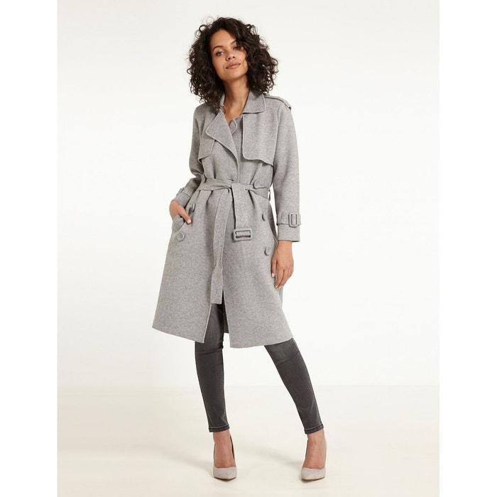 Manteau en maille côtelée MORGAN