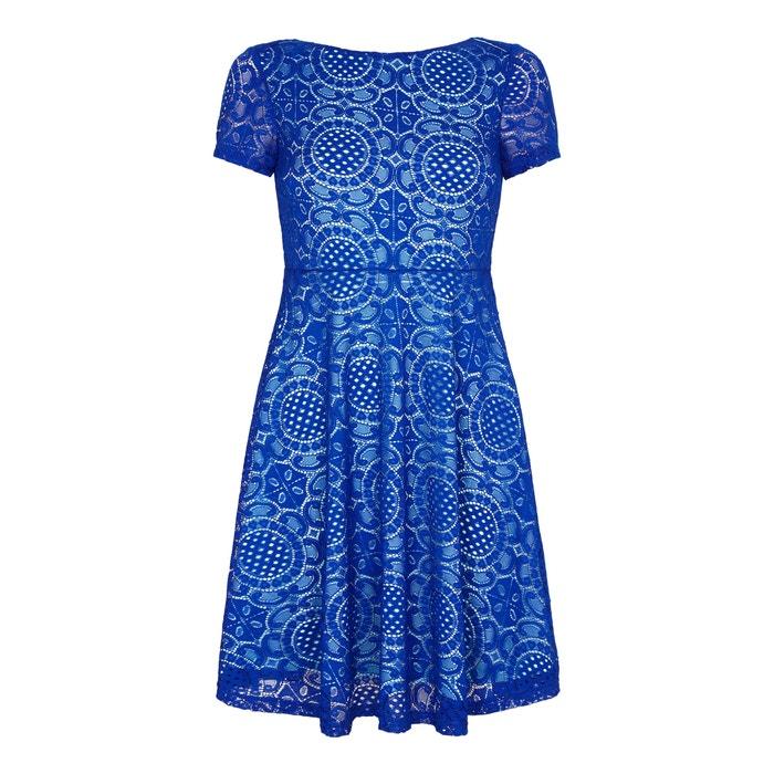 Kleid mit kurzen Ärmeln aus Spitze  YUMI image 0