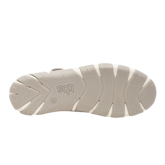 1da9338cd8d9e5 Chaussures ouvertes en cuir juline off white Tbs | La Redoute