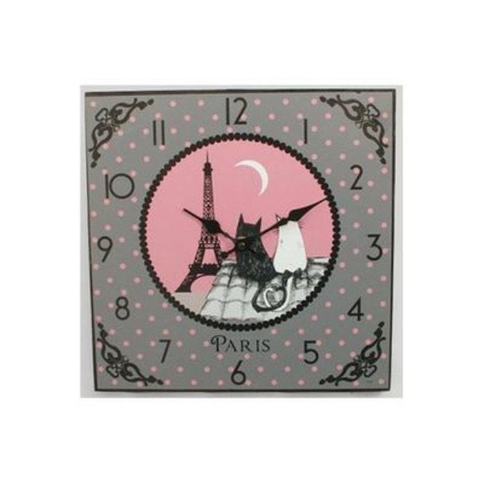 Horloge paris couleur unique faba la redoute - La redoute a paris adresse ...