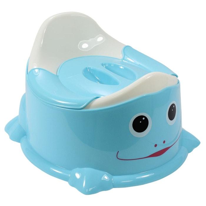 pot de toilette b b couvercle anti odeur poign e de transport bleu bleu monsieur bebe. Black Bedroom Furniture Sets. Home Design Ideas