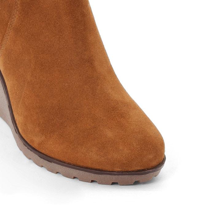 Image Boots croûte de cuir pied large 38-45 CASTALUNA