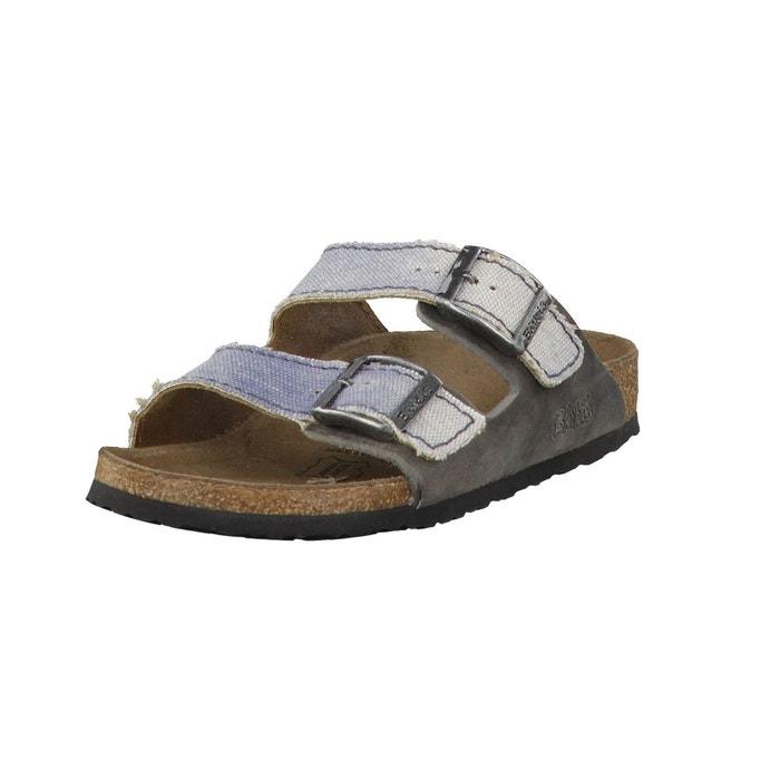Sandales arizona 513653 marron gris Birkenstock Moins De 70 Dollars xPvR8iSV