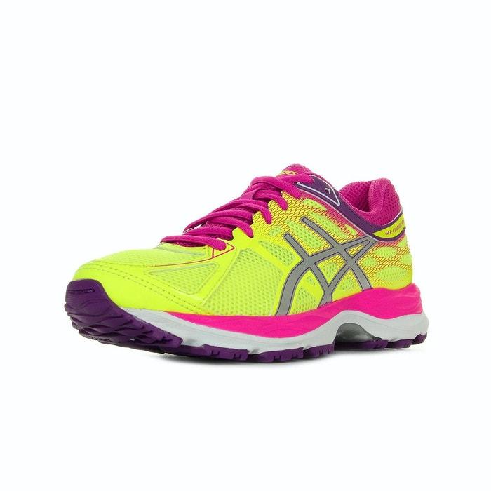 Asics Gel Cumulus 17 Flash Yellow jaune - Chaussures Chaussures-de-running Femme