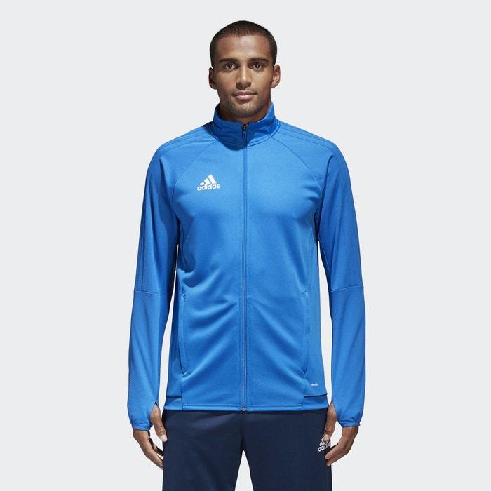 Veste d entraînement tiro 17 bleu Adidas Performance   La Redoute 75d56b67aabd