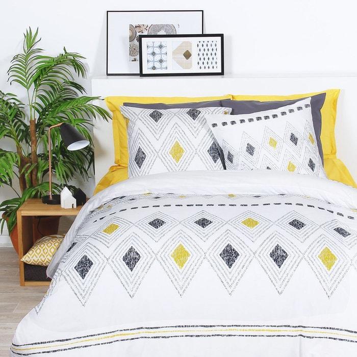 parure de couette 2 personnes coton 57 fils weto fond. Black Bedroom Furniture Sets. Home Design Ideas