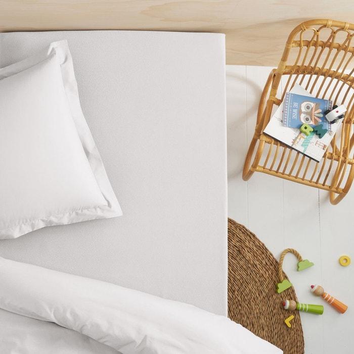 Drap housse jersey pur coton bio pour lit enfant scenario la redoute - Drap de lit grande taille ...