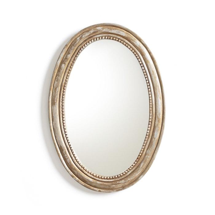 Image Miroir ovale manguier massif, AFSAN La Redoute Interieurs