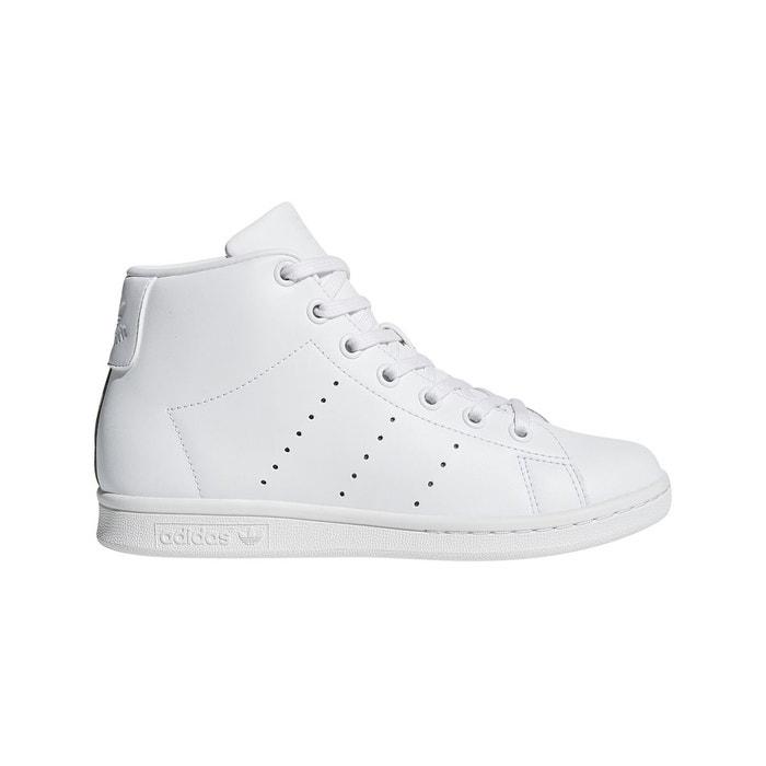 super popular 8fe42 a54f8 Baskets montantes stan smith mid j blanc Adidas Originals  L
