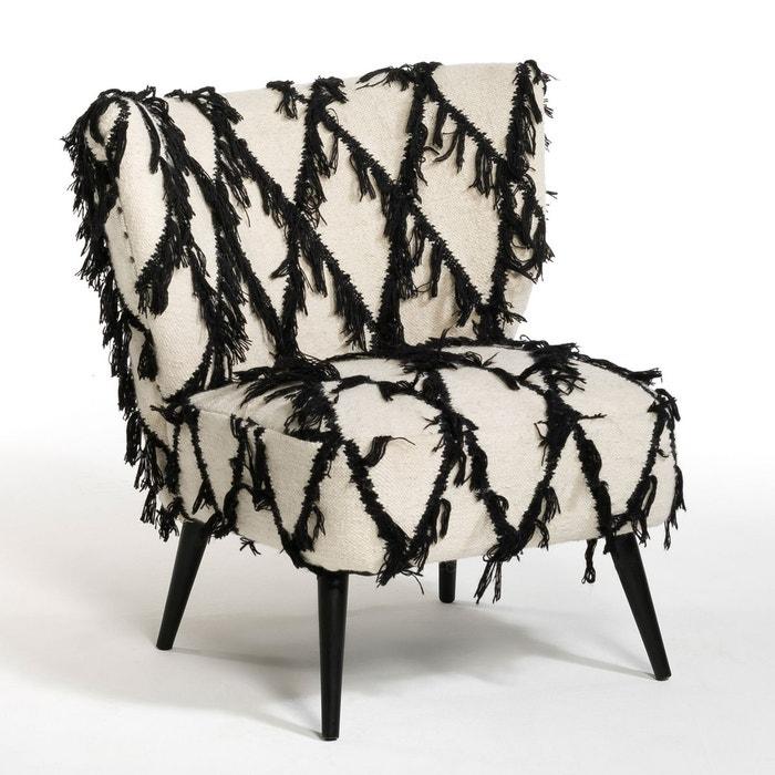 fauteuil kilim rebrod franck naturel am pm la redoute. Black Bedroom Furniture Sets. Home Design Ideas
