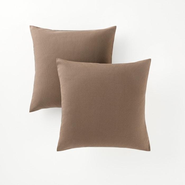 Image Lot de 2 housses de coussin carrées ou rectangulaires SCENARIO