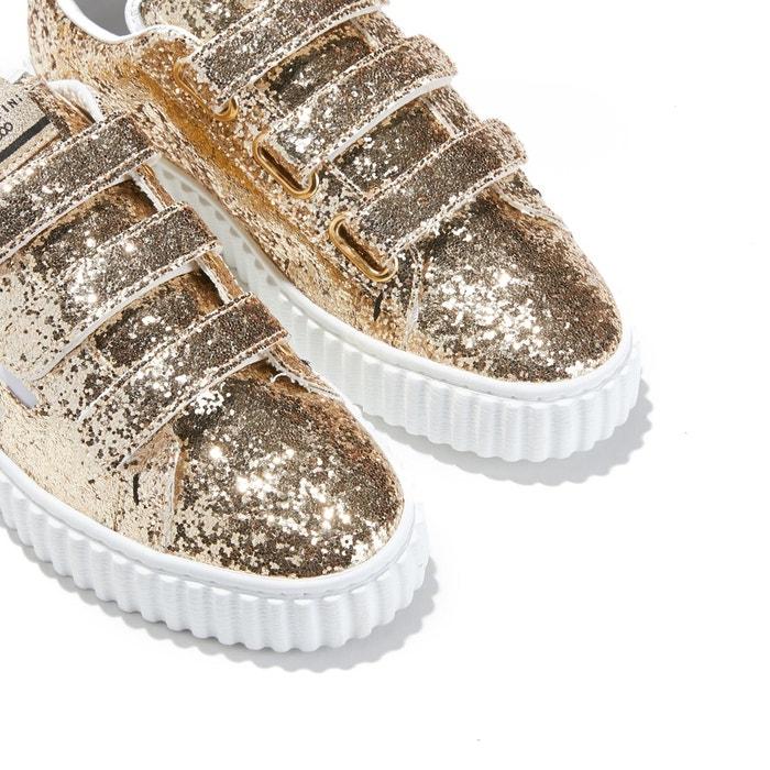 b665f5711939 Baskets madison glitter gold or Serafini - paved4us.com
