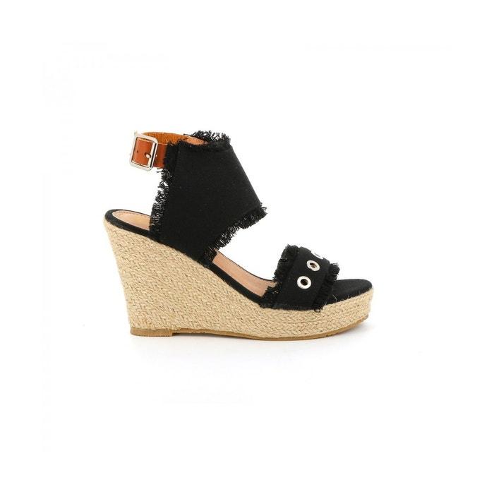 Sandale plateforme belisa Cassis Cote Dazur