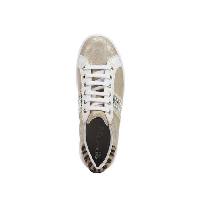 Zapatillas pontoise beigedorado Geox | La Redoute