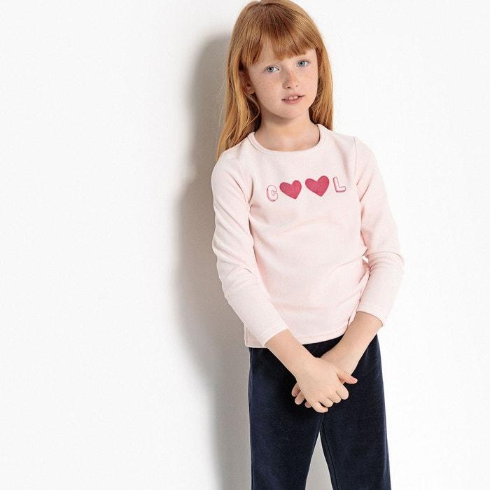 pyjama 2 pi ces imprim 3 12 ans rose la redoute collections la redoute. Black Bedroom Furniture Sets. Home Design Ideas