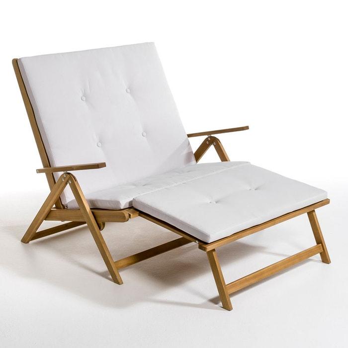 Chaise longue, transat   La Redoute
