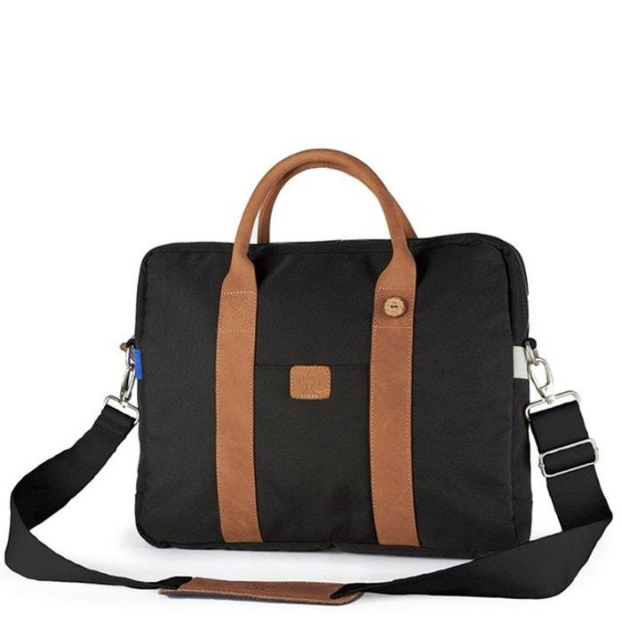 f33493951b Sacoche ordinateur v015373>cuir laptop bag polyester Faguo   La Redoute